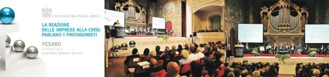 Assemblea 2012 Confindustria Pesaro Urbino