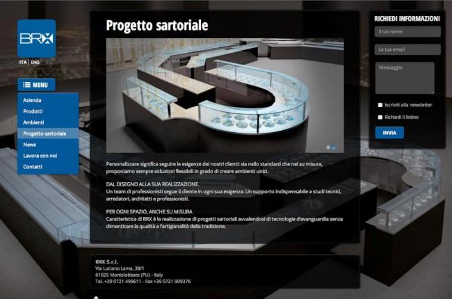 Sito web - BRX Srl